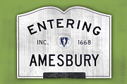 Amesbury Photos - Entering Amesbury by K Hines