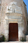 Entrance Door Photos - Entrance Door Chateau Tower by Christiane Schulze