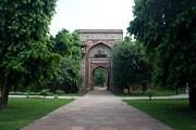 Pallab Banerjee - Entrance of Humayun tomb