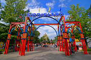 Arch Framed Prints - Entrance to Kiddieland at Kennywood Amusement Park Framed Print by Amy Cicconi