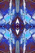 Image Repeat Prints - Entropic Four Way Pairs 2013 Print by James Warren