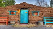 Entryway Prints - Entryway In Carrizozo New Mexico Print by Bob Christopher