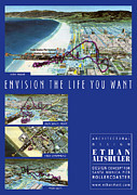 Roller Coaster Painting Posters - Envision the Life You Want  Poster by Ethan Altshuler