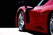Supercar Digital Art - Enzo In Red by Peter Chilelli