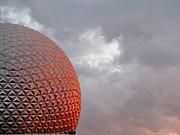 Greg Simmons Prints - Epcot Print by Greg Simmons