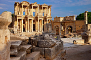 Athena Photos - Ephesus Turkey by Brian Jannsen