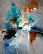 Drips Paintings - Epiphany by Vickie Sue Cheek