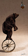 Wagon Wheel Prints - Equilibrium IV Print by Cynthia Decker