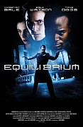 Christian Bale Framed Prints - Equilibrium Poster Framed Print by Sanely Great