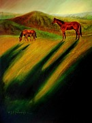 American Bison Originals - Equine Series # 3 by Kelly Killough