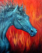 Equus Diabolus Print by Joey Nash