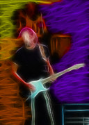 Clapton Photos - Eric Clapton-4-Fractal by Gary Gingrich Galleries
