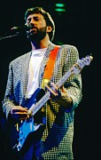 Clapton Photos - Eric Clapton A1 by David Plastik