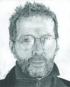Eric Clapton Print by Jeff Ridlen