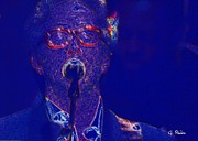 Clapton Digital Art - Eric Clapton Live by George Pedro