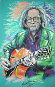 Cream Art - Eric Clapton by Melanie D