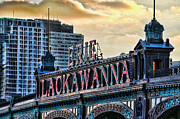 Battery Park Framed Prints - Erie Lackawanna Station Hoboken Framed Print by Paul Ward