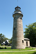 Lighthouse Photo Prints - Erie Land Lighthouse I Print by Clarence Holmes