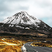 Jane Mcilroy Metal Prints - Errigal Donegal Ireland Metal Print by Jane McIlroy