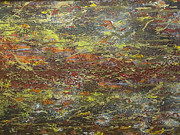 Impressionist Mixed Media - Eruption by Jeanne Ward
