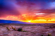 Grand Staircase Escalante Posters - Escalante Sunset 2 Poster by Scotts Scapes