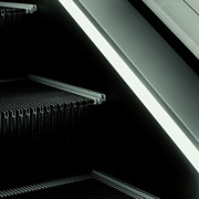 Escalator 04 Print by Noir Blanc