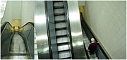 Eric Soucy Art - Escalator 23 minutes by Eric Soucy