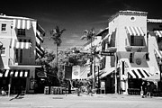 Espanola Framed Prints - Espanola Way Historic Spanish Village Sobe Miami South Beach Florida Usa Framed Print by Joe Fox