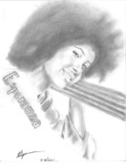 African-american Drawings - Esperanza by Norman Sparrow