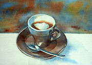 Espresso Paintings - Espressino by Thomas Habermann