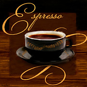 Coffee Digital Art - Espresso Passion by Lourry Legarde