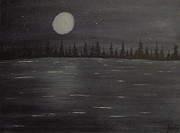 Night Glow Painting Originals - Essence by Rocky Fry