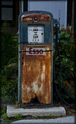 Esso Prints - Esso Gas Pump Print by Bill Cannon