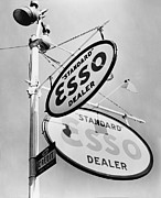 Esso Prints - Esso Gas Sign Print by Digital Reproductions