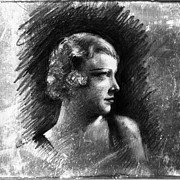 1920 Movies Art - Esther Ralston by Sean Seal