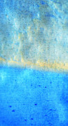 Eternal Blue - Blue Abstract Art By Sharon Cummings Print by Sharon Cummings