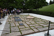 Brave Prints - Eternal Flame - Arlington National Cemetery - 01131 Print by DC Photographer