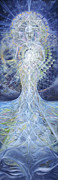 Sacred Feminine Paintings - Ethereal Elemental by Jerod  Kytah