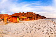 Sinai Prints - Ethereal Morning on a Red Sea Beach Print by Mark E Tisdale