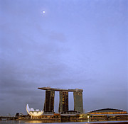Moonlit Night Photos - Ethereal Singapore by Shaun Higson