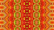 Julia Apostolova - Ethnic Abstract Pattern