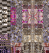 Young Tapestries - Textiles - Ethno003 by Gr Disegni