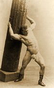 Eugen Sandow Print by American School