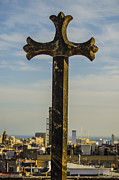 Barcelona Art - Eulalia Cross by Deborah Smolinske
