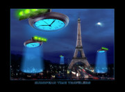 Ufo Posters - European Time Traveler Poster by Mike McGlothlen