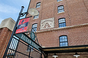 Camden Yards Framed Prints - Eutaw Street Framed Print by Susan Candelario