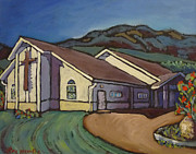 Evangelical Paintings - Evangelical Church Balfour by Tea Preville
