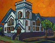 Evangelical Paintings - Evangelical Covenant Church Nelson by Tea Preville