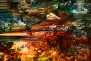 Dramatic Digital Art - Even Heaven Skies can be Fierce by Paul St George