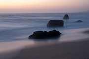 Big Sur Beach Originals - Evening At Beach 3 by Catherine Lau